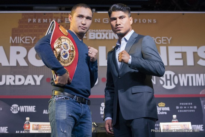 Garcia vs Lipinets rescheduled for March 10