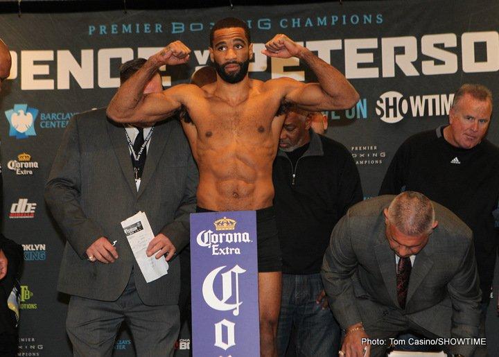 Errol Spence Lamont Peterson Boxing News