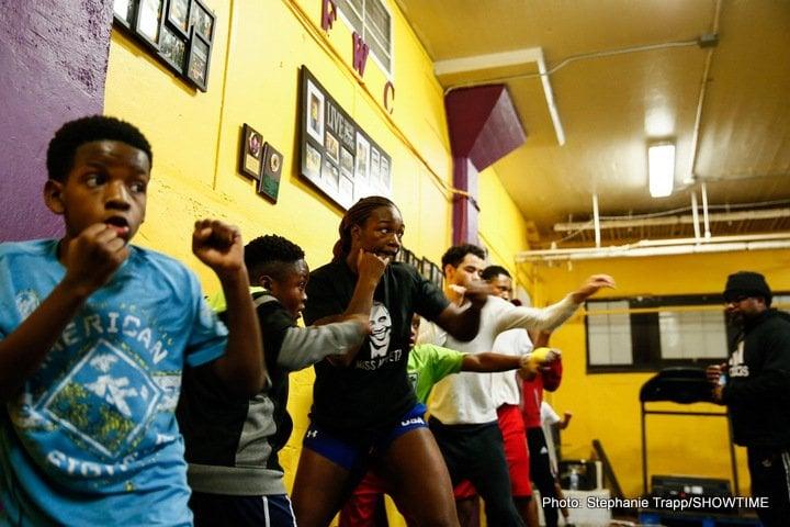 Claressa Shields Tori Nelson Boxing News