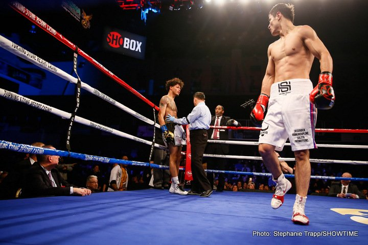 A 10-round clash between undefeated super lightweight prospects will headline ShoBox: The New Generation when Uzbekistan's power-puncher Shohjahon Ergashev takes on Mykal Fox Friday, February 15 live on SHOWTIME from Kansas Star Casino in Mulvane, Kan.