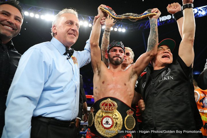Jorge Linares Mercito Gesta Boxing News Boxing Results