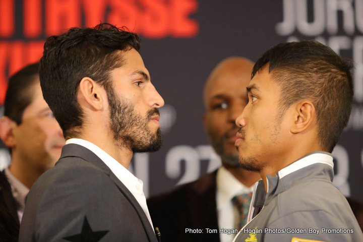 Linares vs Gesta, Matthysse vs Kiram   final press conference quotes for this Sat.