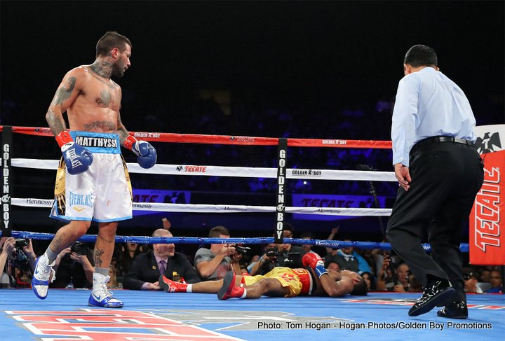 If the Manny Pacquiao Vs. Lucas Matthysse fight happens, who wins?