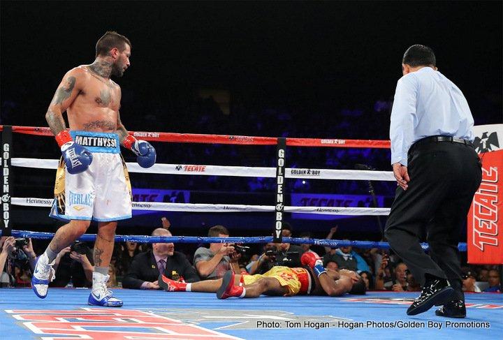 Results: Matthysse KOs Kiram, captures WBA 147lb title
