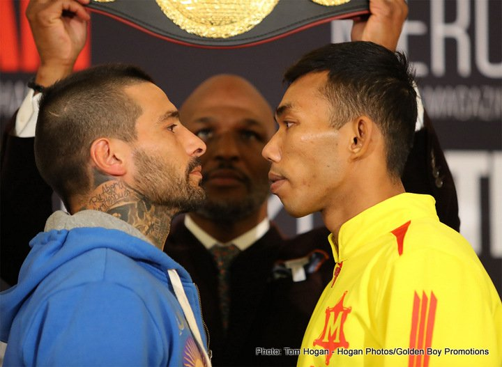 Jorge Linares - Lucas Matthysse is ready to throw his name into the mix at welterweight when he takes on undefeated Tiwa Kiram for the vacant WBA welterweight world title.