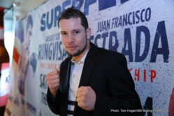 Carlos Cuadras, Juan Francisco Estrada - A huge crowd of local media was on hand in Downtown Los Angeles on Tuesday afternoon to attend the Press Conference for SUPERFLY 2. The event takes place Saturday, February 24 from the Forum in Los Angeles and will be televised live on HBO Boxing After Dark® beginning at 9:30 p.m. ET/PT.