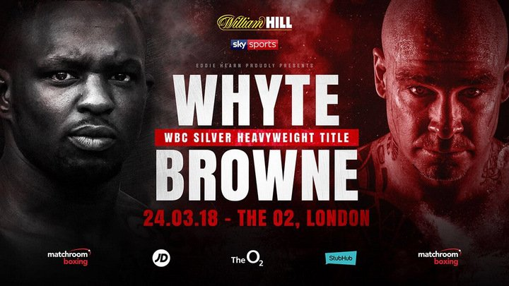Dilian Whyte Lucas Browne Boxing News British Boxing