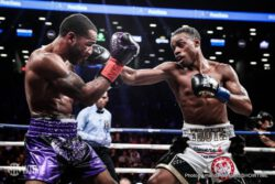 Errol Spence Jr., Lamont Peterson - Undefeated welterweight world champion Errol Spence Jr. retained his IBF title with an impressive stoppage of former two-division champion Lamont Peterson in the main event of SHOWTIME CHAMPIONSHIP BOXING Saturday night from Barclays Center, the home of BROOKLYN BOXING®.