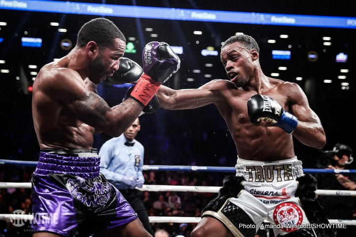 Errol Spence Lamont Peterson Boxing News Boxing Results