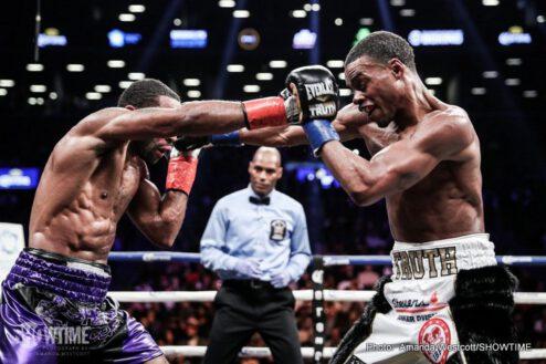 Errol Spence Jr., Lamont Peterson - Boxing News