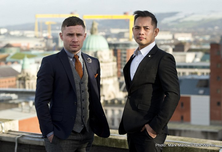 Carl Frampton Josh Warrington Lee Selby Nonito Donaire Press Room