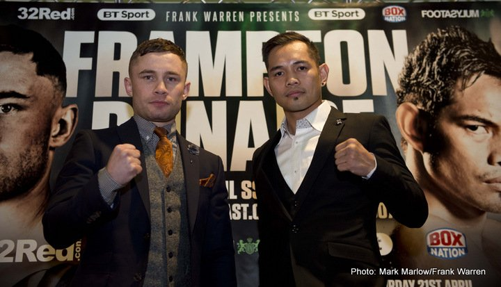 Carl Frampton Conrad Cummings Jono Carroll Nonito Donaire Boxing News British Boxing Top Stories Boxing
