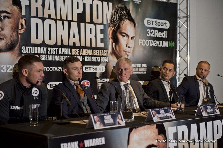 Carl Frampton Conrad Cummings Jono Carroll Nonito Donaire Phil Sutcliffe Boxing News British Boxing Top Stories Boxing