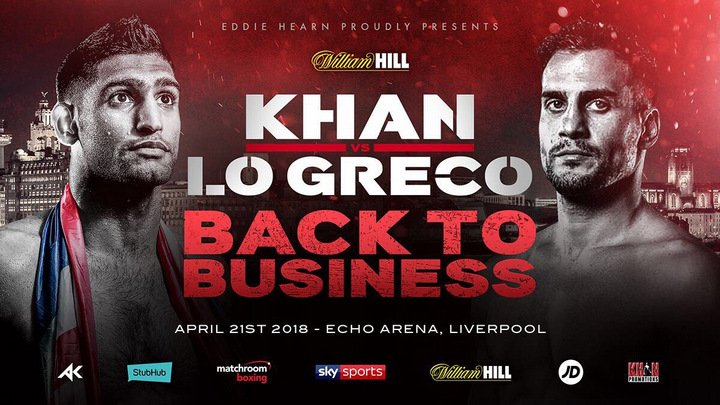 Lo Greco: I want to beat Khan and get Kell Brook fight
