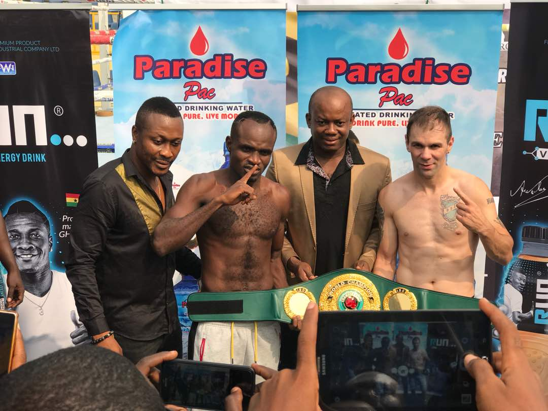 Emmanuel Tagoe - The countdown is over and tonight at the Bukom Boxing Arena in Accra, Ghana, Emmanuel 'Game Boy' Tagoe will step into the ring for a first defence of his IBO Lightweight world title against Fernando David Saucedo of Argentina.