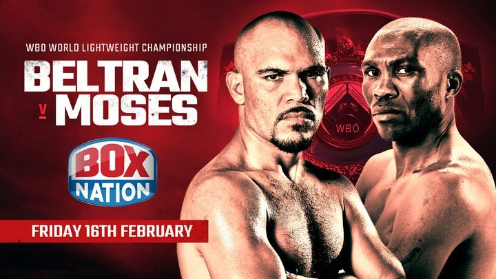Paulus Moses Ray Beltran Boxing News British Boxing