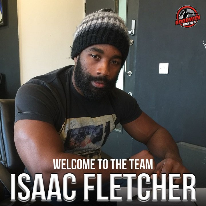 "Isaac ""The Hurricane"" Fletcher British Boxing Press Room"