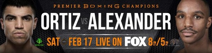 Victor Ortiz - Highly touted 2016 U.S. Olympian Karlos Balderas will battle Jorge Rojas in a six-round matchup live in primetime on Saturday, February 17 in Premier Boxing Champions on FOX and FOX Deportes action from Don Haskins Center on the UTEP campus in El Paso, Texas with television covered starting at 8 p.m. ET/5 p.m. PT.