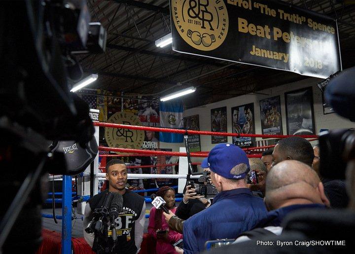 Errol Spence Jr. Javier Fortuna Lamont Peterson Robert Easter Jr. Boxing News