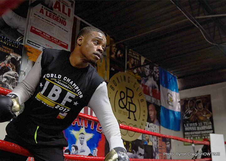 Errol Spence wants to take over from Floyd Mayweather, Andre Ward as the best boxer in the world