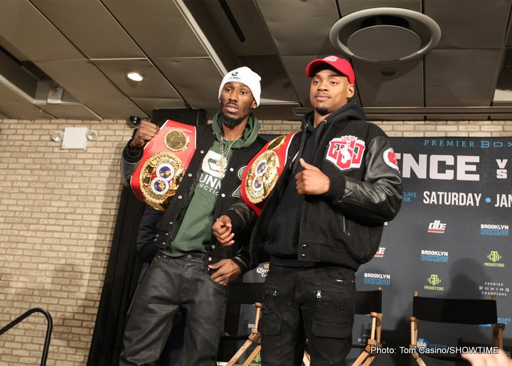 Errol Spence Jr. Javier Fortuna Lamont Peterson Robert Easter Jr. Boxing News