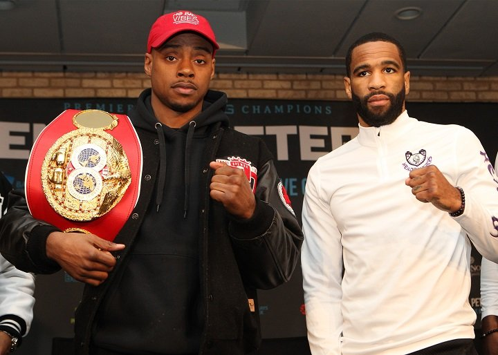 Javier Fortuna - Undefeated welterweight world champion Errol Spence Jr. and two-division world champion Lamont Peterson faced off Thursday at the final press conference before they enter the ring Saturday, January 20 in the main event live on SHOWTIME from Barclays Center, the home of BROOKLYN BOXING®, and presented by Premier Boxing Champions.