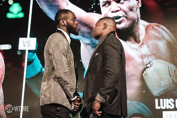 "Deontay Wilder, Luis Ortiz - It's bombs away. It's kill or be killed. It's ""Somebody's O has got to go!"" It's the biggest heavyweight fight to take place on U.S soil since the days of Lennox Lewis and Vitali Klitschko. It's Deontay Wilder Vs. Luis Ortiz and it takes place this Saturday night in New York – at last."