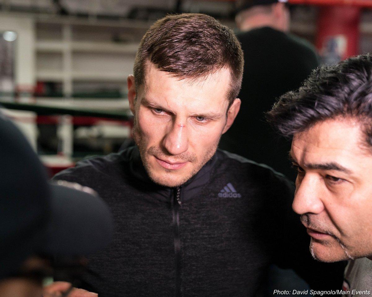 Dmitry Bivol Igor Mikhalkin Sergey Kovalev Sullivan Barrera Boxing News