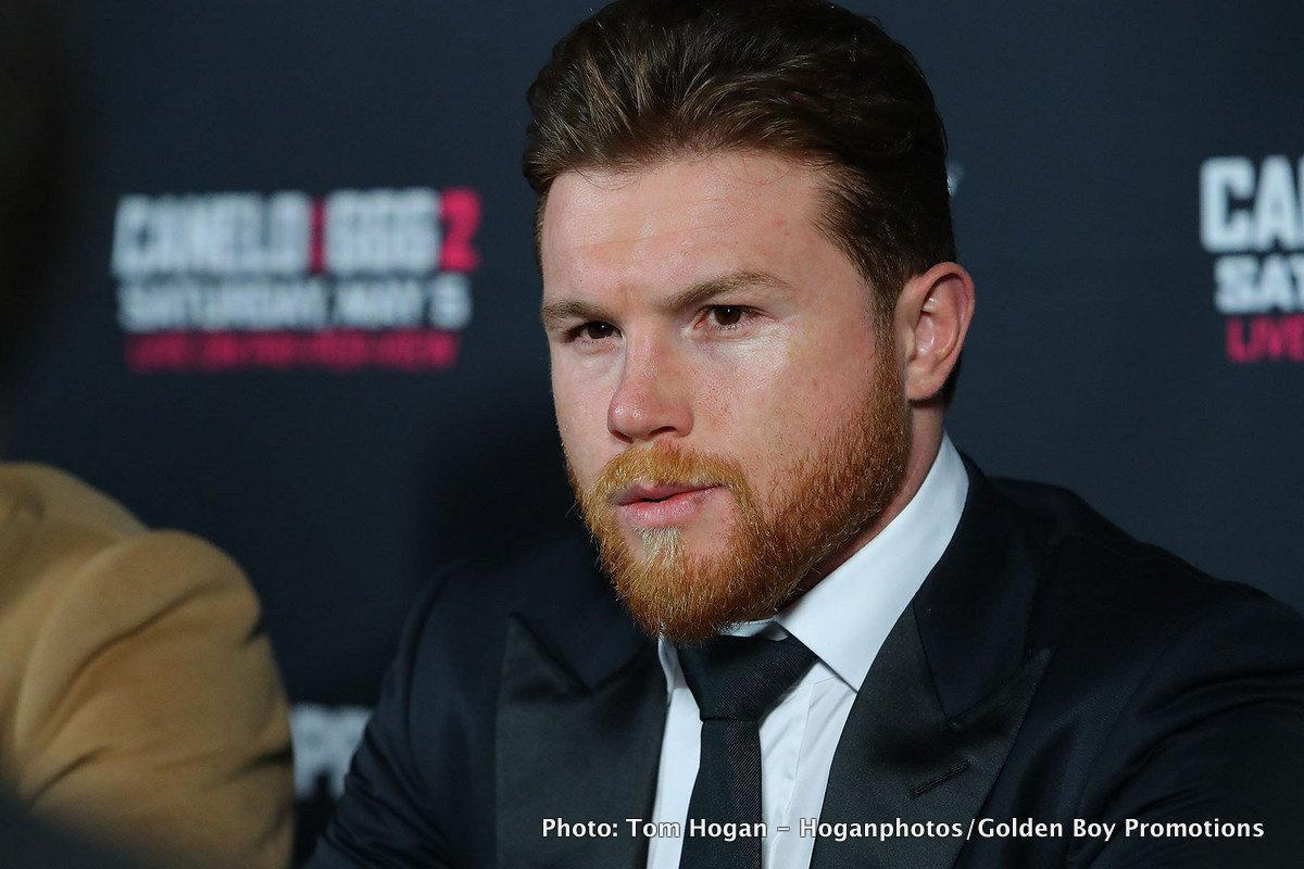 It's official: Gennady Golovkin-Canelo Alvarez II is off – Canelo withdraws from May 5 rematch