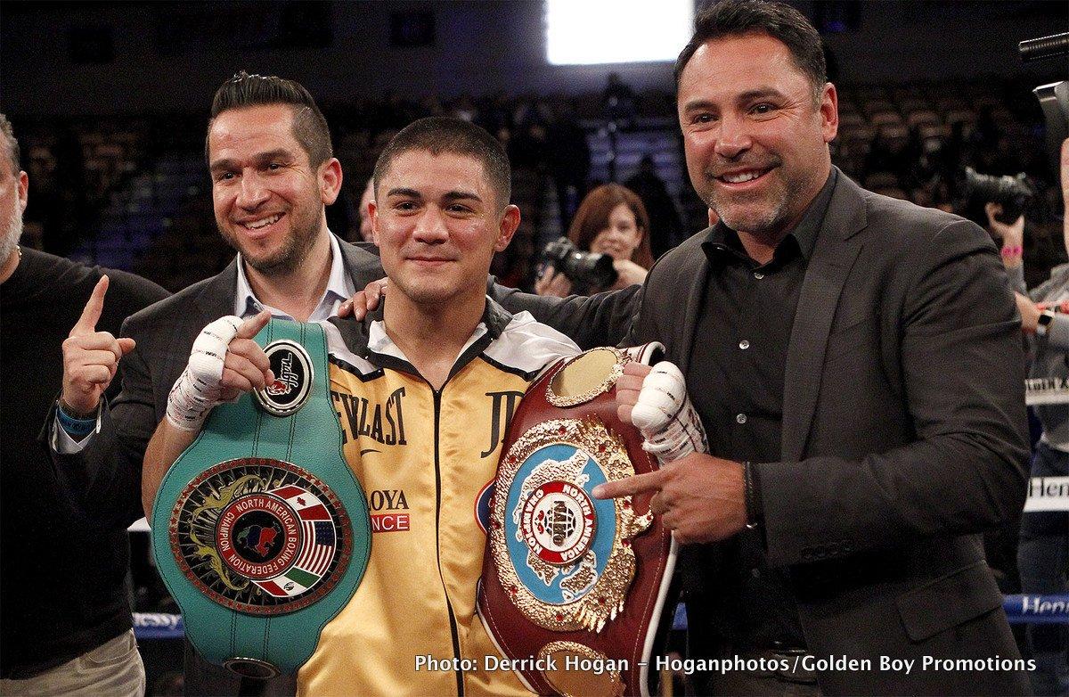 "Joseph ""Jojo"" Diaz Jr. Victor Terrazas Boxing News Boxing Results"