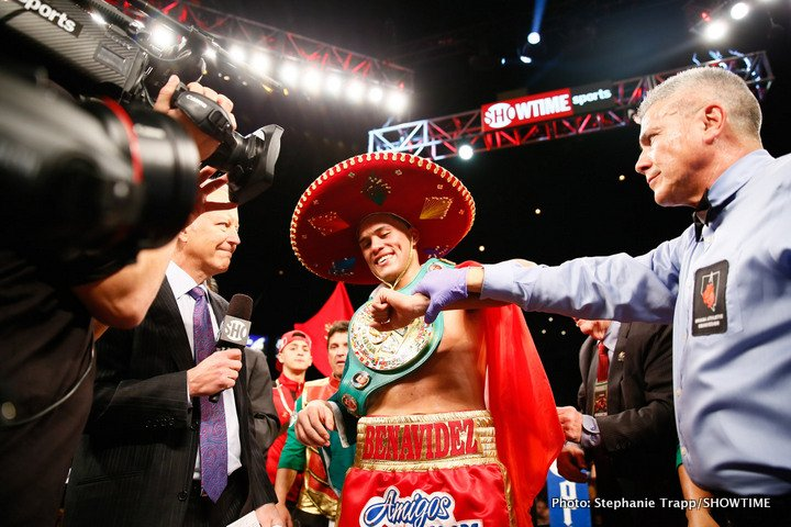 David Benavidez Boxing Interviews Boxing News