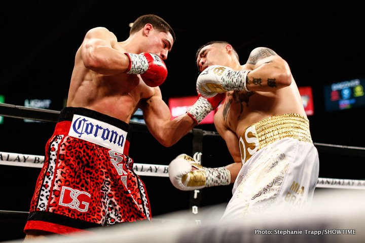 "Brandon Rios - Last night in Las Vegas, former WBC welterweight champ Danny Garcia iced a game (if faded) Brandon Rios in fine, highlight reel fashion. The ninth-round KO ""Swift"" scored is arguably the most impressive, certainly most eye-catching, fight termination of his since his destruction of another faded former champ in Erik Morales, who Garcia KO'd in 2012 (forget the hatchet job Garcia did on the hopelessly over-matched Rod Salka in 2014)."