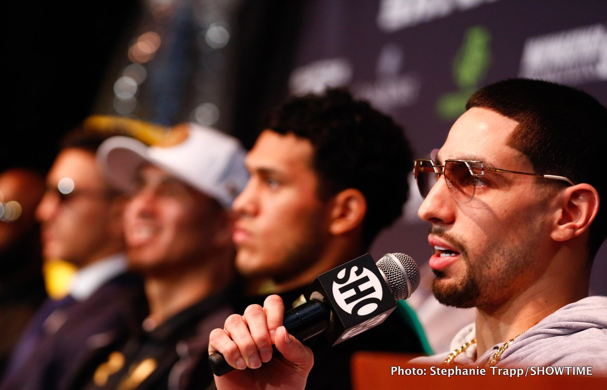 Danny Garcia, Errol Spence Jr. - Danny Garcia has an excellent shot of beating Errol Spence Jr on November 21 due to the car crash 'The Truth' was recently involved in, according to promoter Lou DiBella. He says Spence's Ferrari Spyder was traveling over 100 mph at the time of his accident on October 10 in Dallas, Texas, and he's not certain if Errol will be the same fighter once was before the crash.