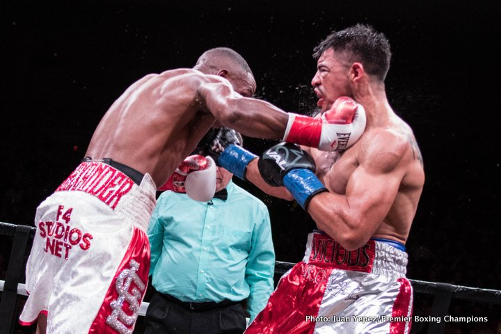 Results: Victor Ortiz – Devon Alexander ends in majority draw