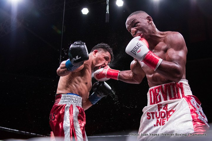 Devon Alexander Victor Ortiz Boxing News Boxing Results Top Stories Boxing