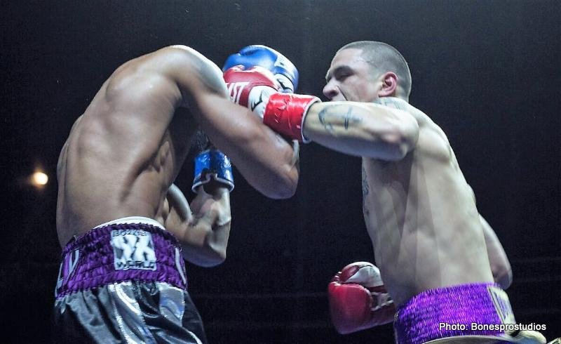Rivera Brutally KOs Cobbs, Obtains the UBF N.E. Light Heavyweight Title