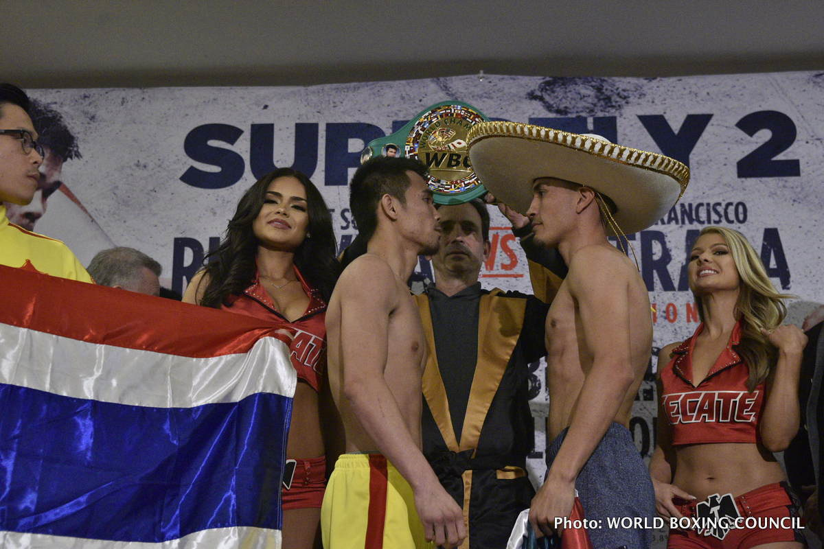 Juan Francisco Estrada Srisaket Sor Rungvisai Boxing News Top Stories Boxing