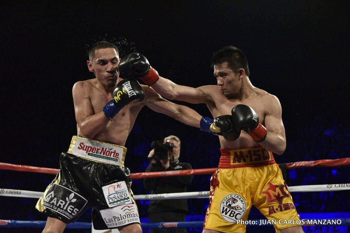 Juan Francisco Estrada Srisaket Sor Rungvisai Boxing News Boxing Results Top Stories Boxing