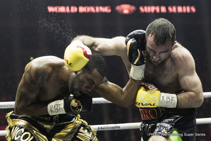 Yuniel Dorticos - Tonight in Russia, in the second semifinal of the WBSS cruiserweight tournament, Russian hero and defending IBF champ Murat Gassiev added the WBA crown to his name as he sensationally stopped Cuba's Yunier Dorticos in the 12th and final round of an incredible battle.