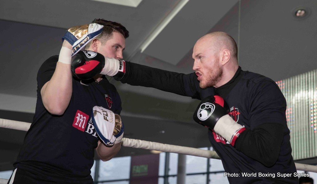 George Groves - It's far from certain that George Groves will defeat Chris Eubank Junior in tomorrow night's fascinating, 50/50 showdown that will see the winner both emerge as the WBA 168 pound champion (Groves currently the holder of the belt) and as a finalist in the WBSS tournament. Fans, here in the UK especially, are about as split down the middles as could be imagined; with any good case for a Groves win being matched by an equally good and convincing argument that Eubank Jr. will get the win.