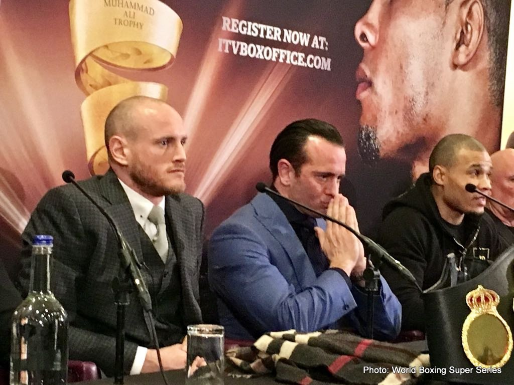 Carl Froch Chris Eubank Jr Boxing News British Boxing