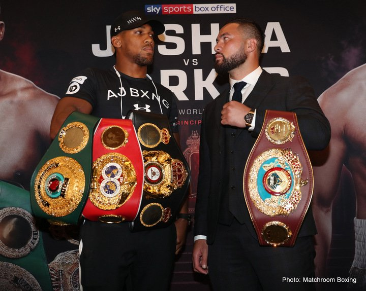 Anthony Joshua, Joseph Parker - Boxing Interviews