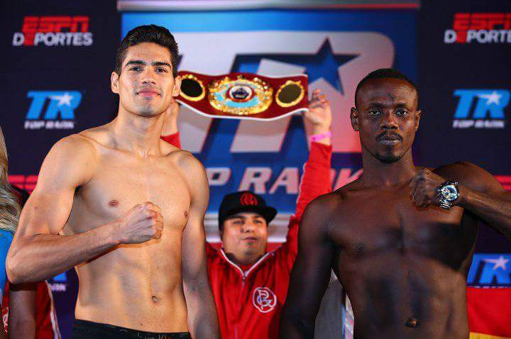 Gilberto Ramirez vs Habib Ahmed: WBO world title fight tonight