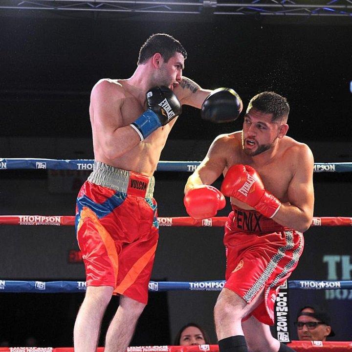 Sergio Ramirez Zhora Hamazaryan Boxing Results Press Room