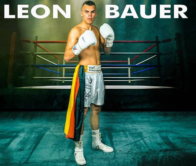 Leon Bauer - Leon Bauer is a rising star fighting on the undercard of Callum Smith vs. Juergen Brahmer in the WBSS semi-final this Saturday. Bauer is an exciting prospect from Germany who fights in the super middleweight division. He was the youngest ever German boxer to fight in the boxing capital of the world; Las Vegas. He sure is on the rise, and I can't wait to find out more about him.
