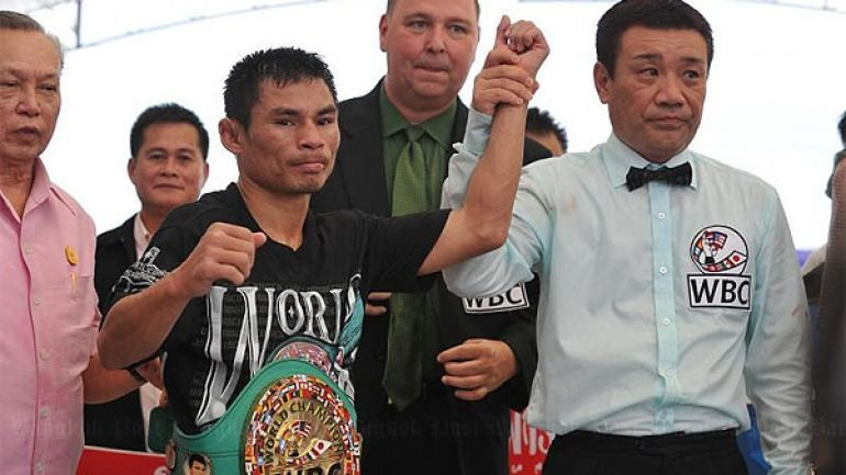 "Wanheng Menayothin - Known, colourfully, as the ""Dwarf Giant,"" Thai fighter Wanheng Menayothin (photo: WBC) is quietly closing in on tying Floyd Mayweather's 50-0 pro record. Far from a household name anywhere apart from in his homeland of Thailand, the reigning, undefeated WBC minimumweight champion is currently 49-0 and his next fight, expected to take place in either April or May, against Panamanian Leroy Estrada, could see this unheralded fighter go to an incredible 50-0. And it's safe to say not too many people will even hear about it."