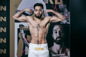 Qais Ashfaq - Salford's Marc Leach believes his best will be enough to outmanoeuvre Qais Ashfaq when the pair meet in a Final Eliminator for the British Super-Bantamweight Title this Saturday October 17, live on Sky Sports in the UK and DAZN in the US.