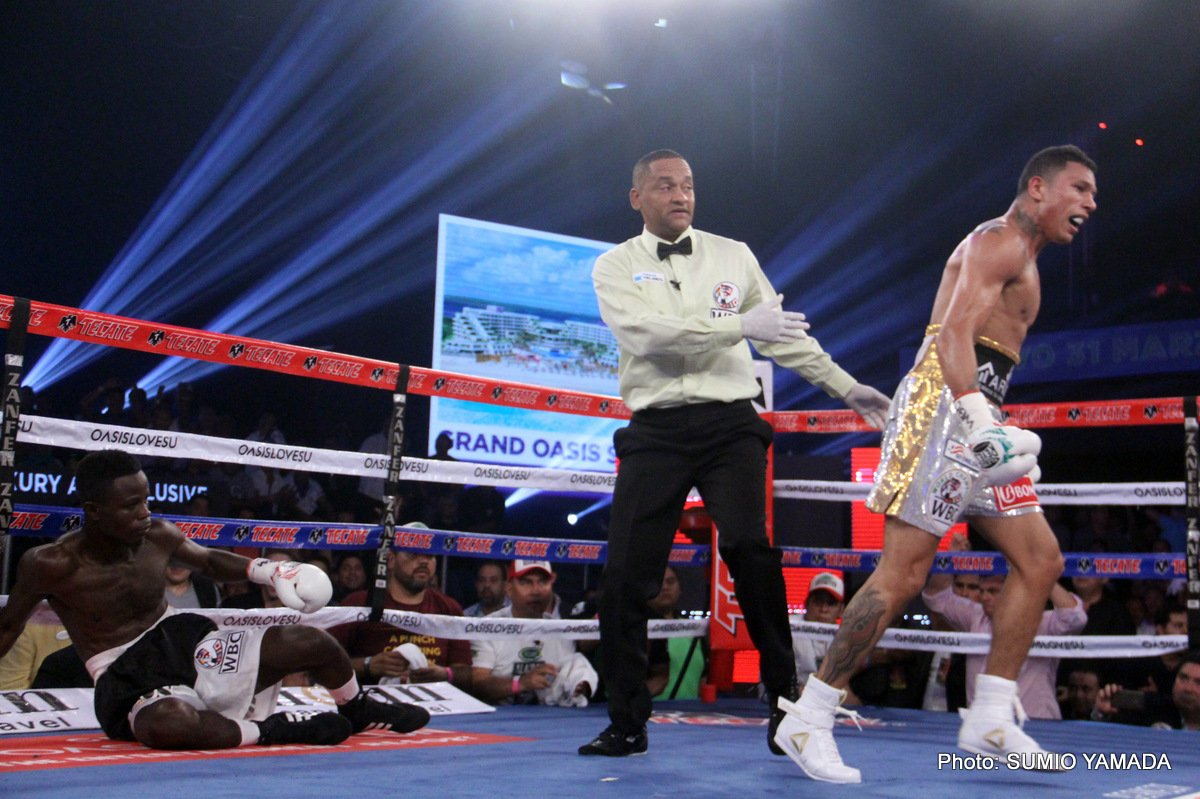 Results: Miguel Berchelt destroys Maxwell Awuku in 3 rounds