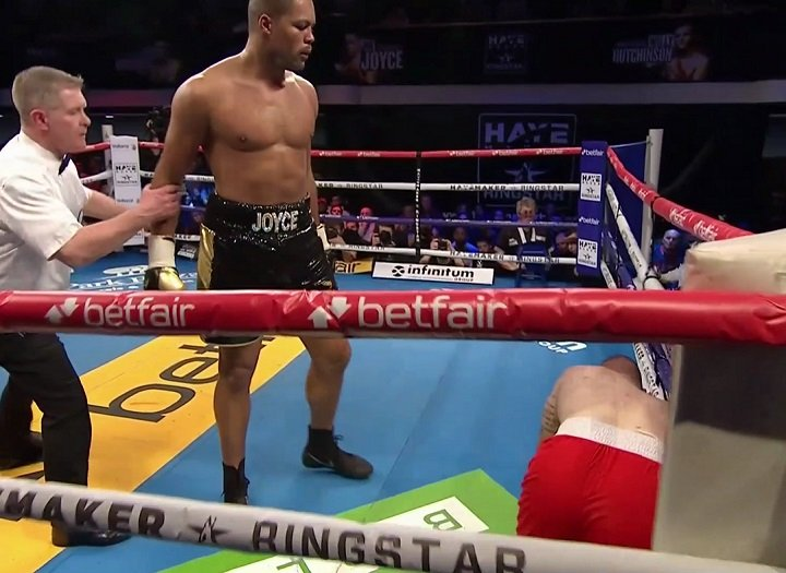 Joe Joyce - Joe Joyce set himself up for a potential showdown with Dereck Chisora after his devastating win over Rodolf Jozic in the main event of the Hayemaker Ringstar Fight Night — live on free-to-air entertainment channel Dave. In only his second professional fight, the Olympic silver medalist claimed his second victim with a first round stoppage at York Hall.