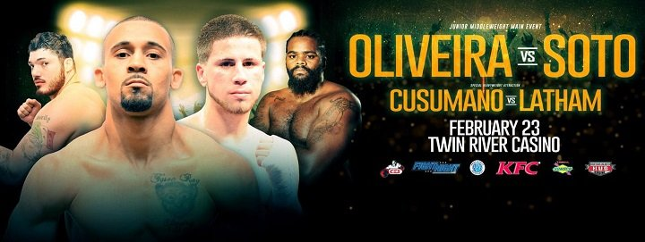 Ray Oliveira Jr. - It's not so much the fact Ray Oliveira Jr. is headlining a fight card for the first time in his career that has him a little more amped up than usual for Friday night's event at Twin River Casino. It's the fact he's bringing his hometown with him.